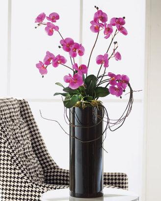 John-Richard Collection Faux Fuchsia Orchids