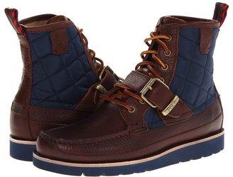 Polo Ralph Lauren Saddleworth II (Black/Black/Cream) - Footwear