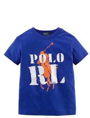 Ralph Lauren Graphic Print Cotton T-Shirt (Toddler Boys)