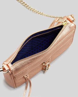 Rebecca Minkoff Mini M.A.C. Crossbody Bag,Rose Gold