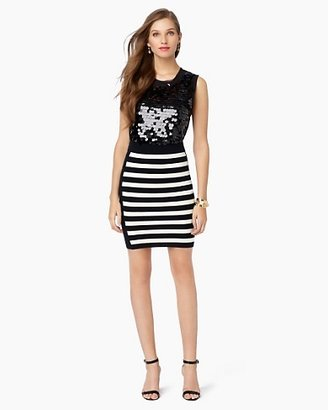 Juicy Couture Striped Pencil Skirt