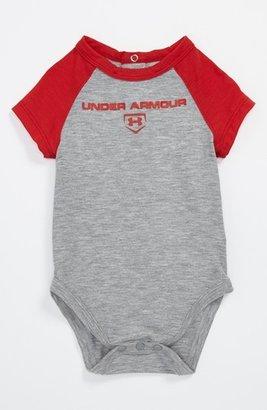 Under Armour Logo Bodysuit (Baby Boys) Red 3-6M