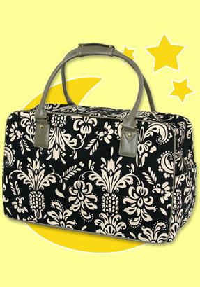 Bedhead Black Pineapple Overnight Bag