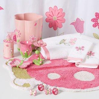 Butterfly garden bath accessories