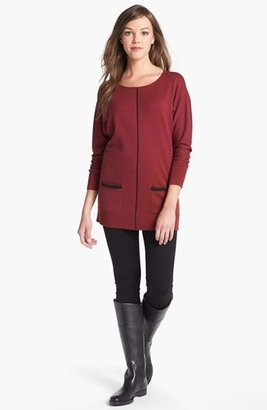 Halogen Dolman Sleeve Tunic Sweater (Regular & Petite)
