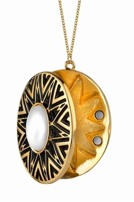 House Of Harlow Tribal Locket with Cabochon