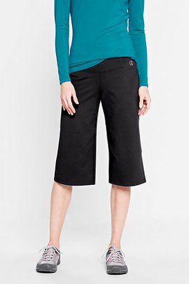 Lands' End Women's Tall Solid Relaxed Performance Capris