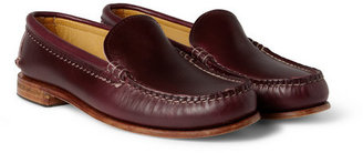 Quoddy Tourmaline Leather Loafers