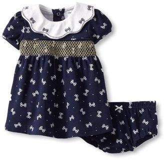 Hartstrings Baby-Girls Newborn Knit Dress And Panty Set