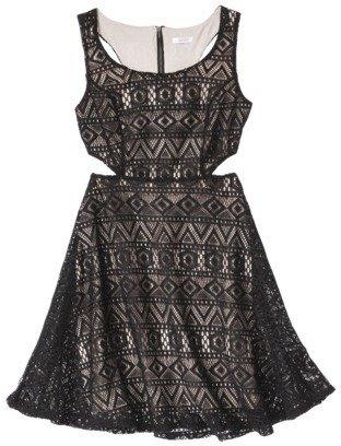 Xhilaration Junior's Cut Out Dress - Assorted Colors