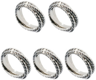 Asos Limited Edition 5 Russian Ring Pack