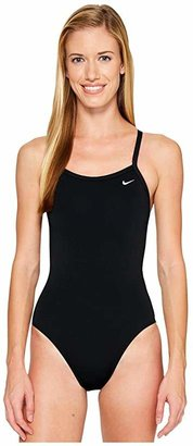 Nike Solid Poly Lingerie Tank One Piece