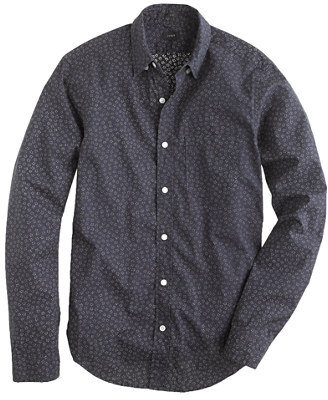 J.Crew Slim indigo shirt in floral print