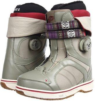 Vans Kira (Khaki/Red) - Footwear
