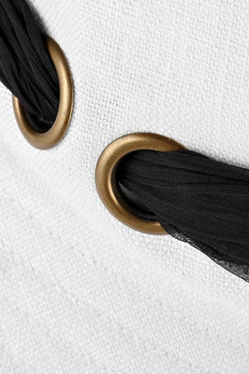 Eugenia Kim Jordana foldable linen sunhat