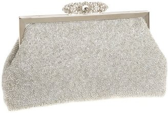 La Regale Antique Frame Full Bead Clutch