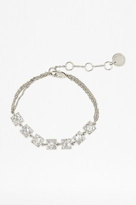 French Connection Faceted Window Crystal Bracelet