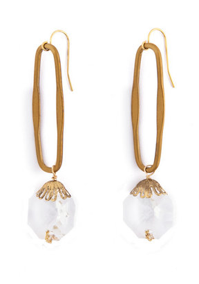 Citrine by the Stones Looking Glass Earrings