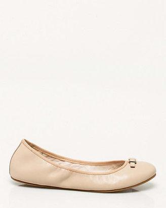 Le Château Leather Round Toe Ballerina