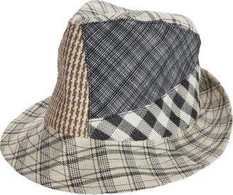 Albertus Swanepoel Plaid Patchwork Sun Hat