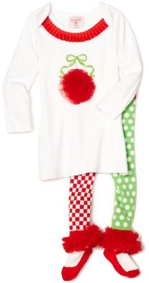 Mud Pie Baby-girls Infant Ornament Tunic and Tights
