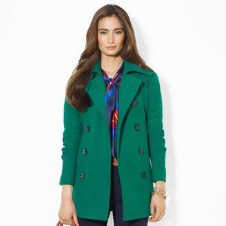 Ralph Lauren Double-Breasted Wool Pea Coat