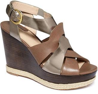 Joan & David Isleen Platform Wedge Sandals