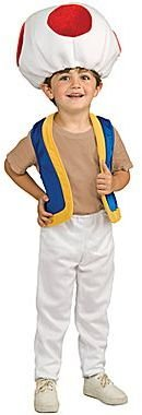 JCPenney Super Mario Bros. - Toad Child Costume