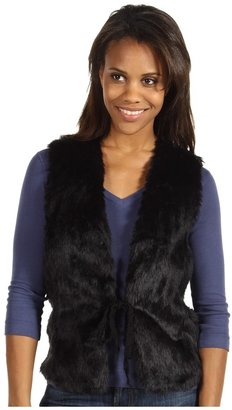 Roper 8235 Faux Fur Vest (Black) - Apparel