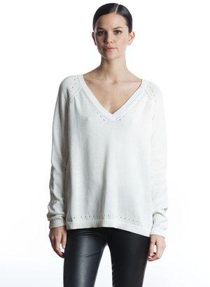 525 America Mercerized Cotton V Neck Shirttail Bottom