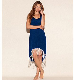 "Lucky Brand Pure Spirit"" Racerback Dress Coverup"