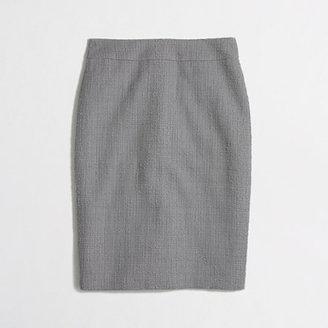 J.Crew Factory Factory pencil skirt in tonal tweed