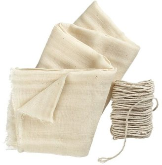 Crate & Barrel Cheesecloth.