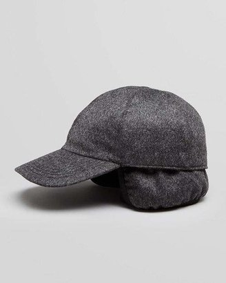 Bloomingdale's The Men's Store at Cashmere Earflap Baseball Cap - 100% Exclusive