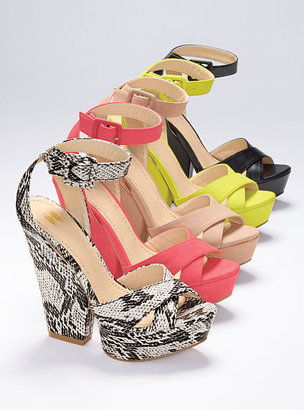 Victoria's Secret Collection Chunky Platform