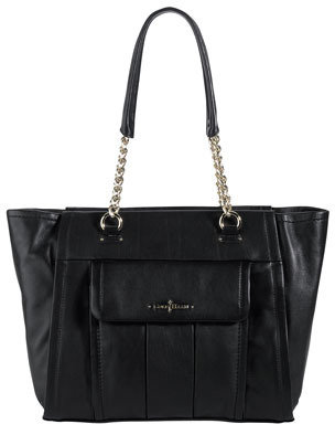 Cole Haan Ainsley Leather Tote Bag, Black