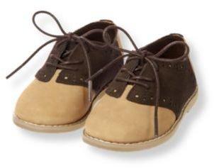 Janie and Jack Leather Saddle Shoe