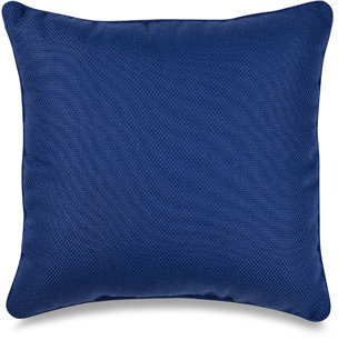 Bed Bath & Beyond Outdoor 17-Inch Welt Cord Pillow - Blue