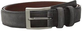 Torino Leather Co. 35MM Italian Calf Suede (Brown) Men's Belts