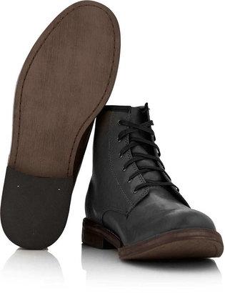 Topman Black Stamford Hi Boots