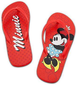Disney Classic Minnie Mouse Flip Flops for Women