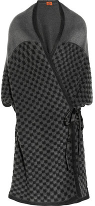 Missoni Oversized patterned knitted cardigan