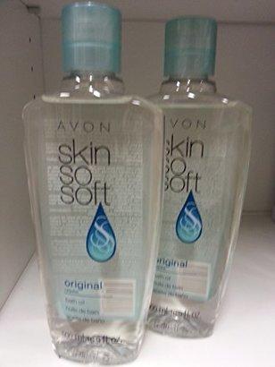 Lot of 2 Avon Skin So Soft SSS Original Bath Oil 16.9 oz ea New & Sealed! $26 thestylecure.com