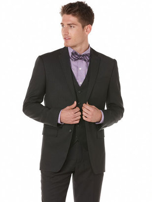 Perry Ellis Classic Fit Twill Stripe Suit Jacket