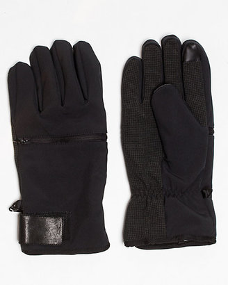Le Château Faux Leather Glove