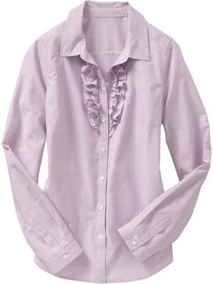 Old Navy Women's Ruffled Button-Down Blouse