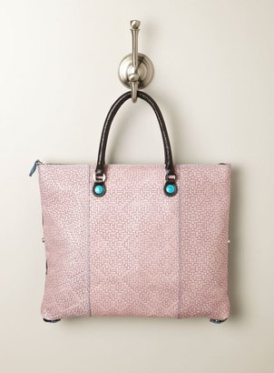 Gabs Medium Andawsia Woven Convertible Bag, Multi