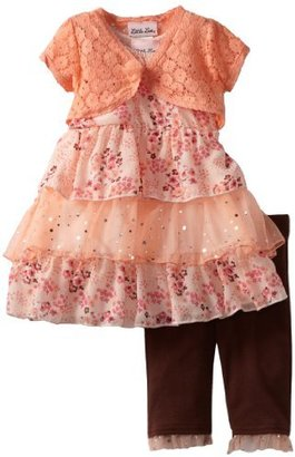 Little Lass Baby-Girls Infant 3 Piece Skimp with Layers