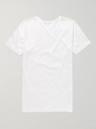 Zimmerli Royal Classic Crew-Neck Cotton T-Shirt - Men - White
