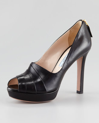 Prada Platform Shoe Boot